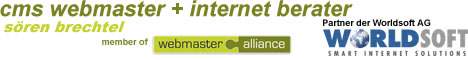 Worldsoft CMS Webmaster und Internet Berater Hamburg