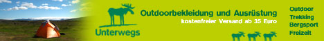 Unterwegs Outdoor Shop mit internationalem Versand