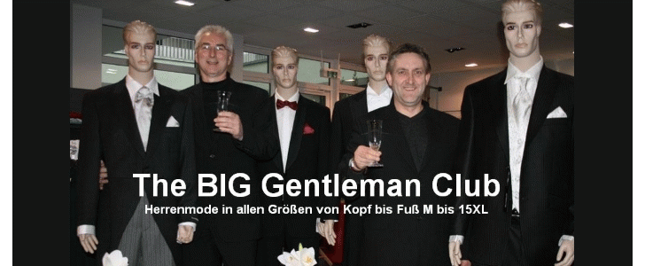 The BIG Gentleman Club XXL Herrenmode in großen Größen